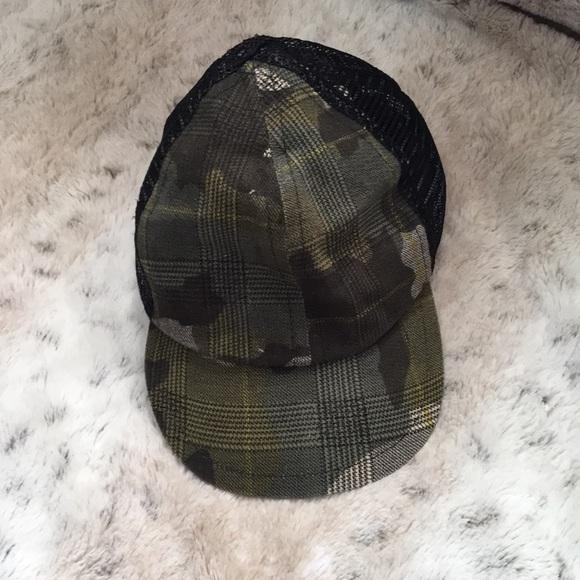 093405e8 George Hats Accessories | Camo Trucker Cap | Poshmark